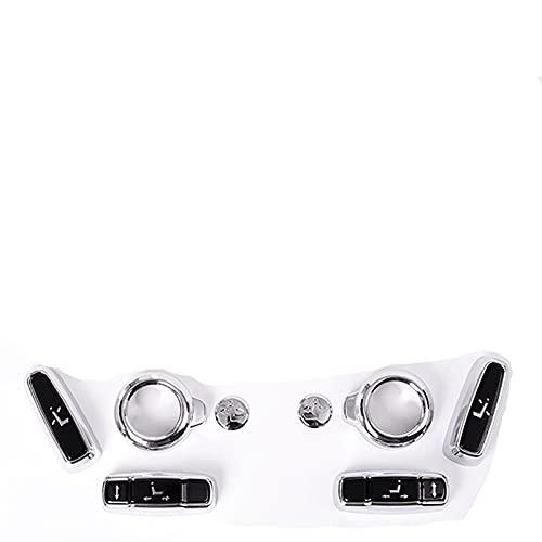 Asiento de coche ajuste lateral botón cubierta Trim piezas para Land Rover Discovery 5 Rrs Evoque Velar Sport para Jaguar-2