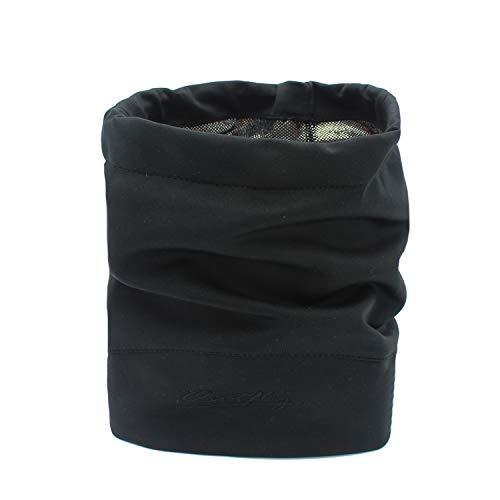 Outfly Multifonctionnel Sports Bandana Headwrap Bandeaux Cou Gaiter Foulards Tissu thermique mince, 4 couleurs, Noir
