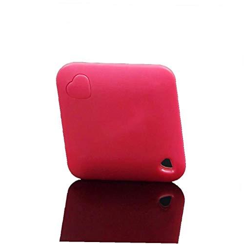 xiaocheng Localizador GPS Bluetooth Wireless Mini Llave del Buscador Buscar En Tu Clave De La Alarma Perdida Anti Chip De Teléfono De Equipaje Finder (Rojo) Accesorios para Ordenadores