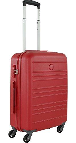Delsey Carlit Cabina Trolley 4W Slim 55 Red