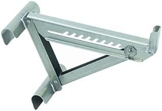 Qualcraft 2420 Two-Rung Short Body Ladder Jack, Silver