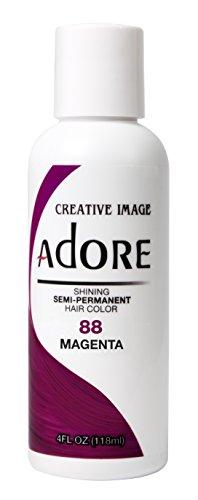 Adore Glänzende semi-permanente Haarfarbe, 88 Magenta