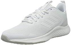 adidas Damen Fluidstreet Running Shoe, Cloud White/Cloud White/Grey, 38 EU