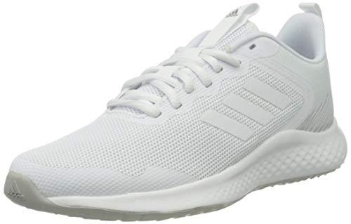 adidas FLUIDSTREET, Zapatillas de Running Mujer, FTWBLA/FTWBLA/Gridos, 37 2/3 EU