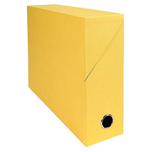 Exacompta 89529e recinto transferencia toilée 9cm) amarillo