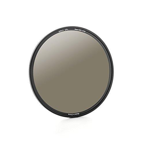 Sirui CPL67Ultra Slim S de Pro Nano MC–Filtro polarizador (67mm, Multicapa, Cristal Schott) Negro
