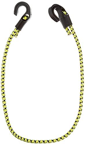 Connex Gepäckspanner - Ø 8 x 800 mm - Längenverstellbar - Stahlhaken mit PVC-Überzug - Dehnbar und reißfest - Zur Ladungssicherung aller Art / Spanngummi mit 2 Haken / Expander / B34077