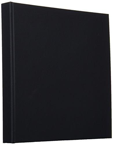Chikuma 写真台紙 多面 Newハートスケープ ブックタイプ L/2L 6面以上 ブラック 17758-6