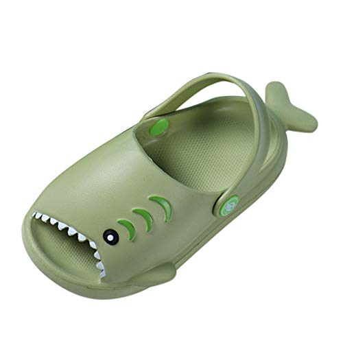 YWLINK Zapatillas Antideslizantes De TiburóN De Dibujos Animados En 3D para NiñOs,Sandalias De Playa Lindas De Verano,Zapatillas Casa,Sandalias Y Pantuflas CóModas Multicolores,Zapatos ExtrañOs