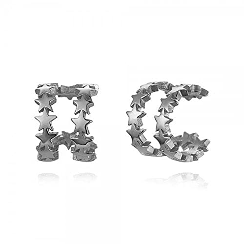 Pendientes Mujer Joyería De Plata De Ley 925 Minimalista Bling Cristal De Circón Mini Perno De Oreja para Boda Fiesta De Compromiso Regalo Largo Oorbellen Silver 6