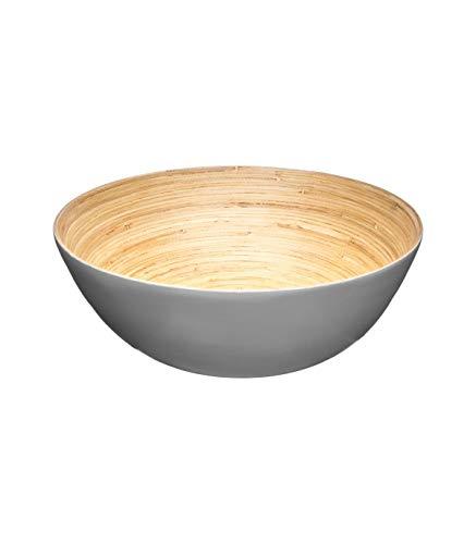 Secret de Gourmet - Saladier bambou gris 25cm