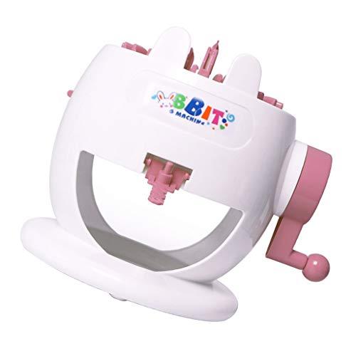 CUTICATE Rundstrickmaschine Kinder Strickmaschine Strickmühle DIY Spielzeug Set