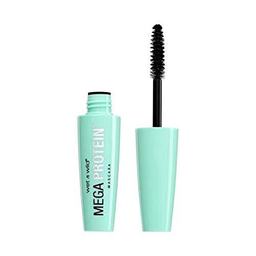 WET N WILD Mega Protein Waterproof Mascara - Very Black (6 Pack)