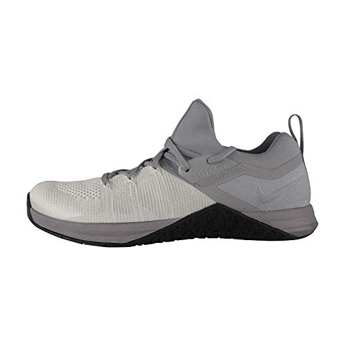 Nike Metcon Flyknit 3 Mens Cross Training Shoes (7.5, Cool Grey/Black)