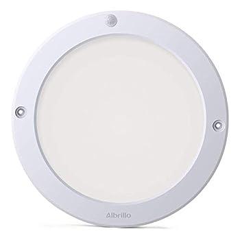 LED Ceiling Light Motion Sensor 1200lm - Albrillo Motion Lights Indoor Outdoor 100W Equivalent for Stairs Closet Room Basement Hallway Warm White 2700K