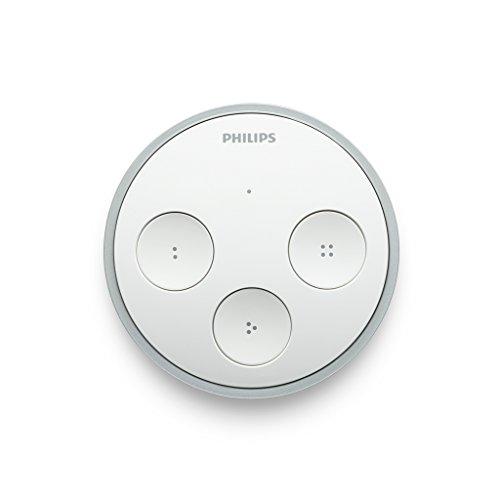 Philips Hue Tap kabelloser (intelligenter Schalter zur Steuerung der Hue-Produkte) [Frustfreie Verpackung]