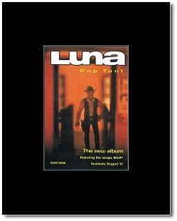 Music Ad World Luna - Pup Tent Mini Poster - 13.5x10cm