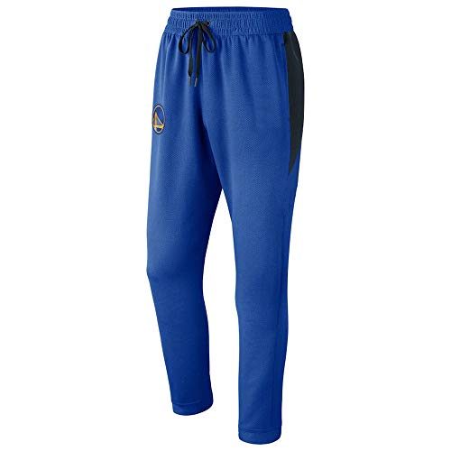 Uomo Pantaloni Pantaloni NBA Golden State Warriors Allenamento Pantaloni Casual Outdoor Allentato Sport Blue-M