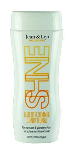 Jean & Len Conditioner Leuchtschimmer, mit schwarzem Hafer extrakt für strahlend leuchtendes Haar, 230 ml, 1 Stück 2900100207