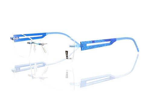 switch it Garnitur Combi 2365 Wechselbügel Montur in der Farbe Style blau, Druck dunkelblau