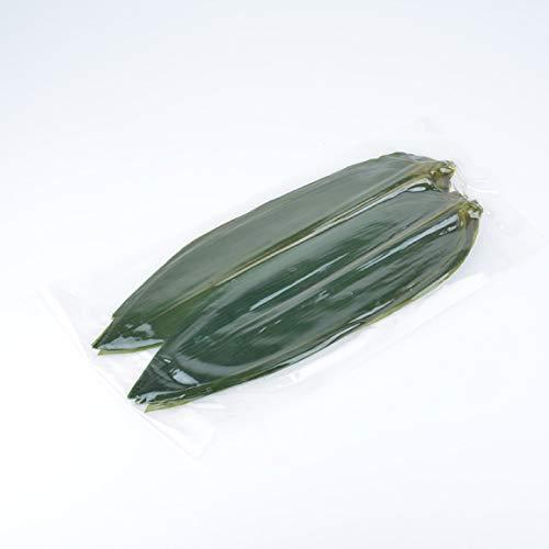 200 hojas de bambú frescas envasadas al vacío, decoradas con sashimi, sushi japonés, cocina japonesa, decorada con hojas zongzi.