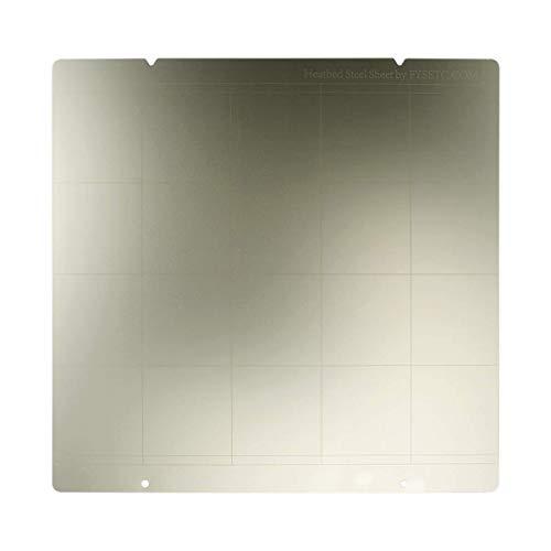 Toaiot - Piattaforma riscaldata in lamiera di acciaio MK3 per stampante 3D MK52 con foro per Reprap Prusa i3 MK3 MK2.5