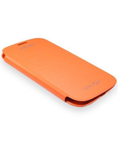 Samsung Flip Tasche Case Etui Hülle für i9300 Galaxy S3 EFC-1G6FO orange - Blister