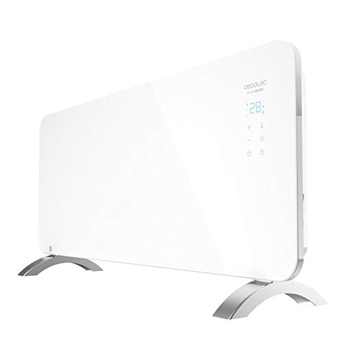 Cecotec Convector de Cristal Ready Warm 6750 Crystal Connection. Manejo por WiFi, Termostato...