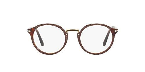 Persol 0PO3185V Monturas de gafas, Brown, 46 para Hombre
