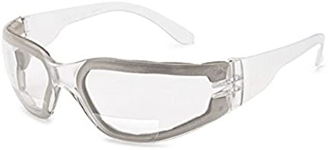 Gateway Safety 46MF15 Starlite FoamPRO MAG Safety Glasses, 1.5 Diopter Magnification, Clear Anti-Fog Lens, One Size, Clear Temple