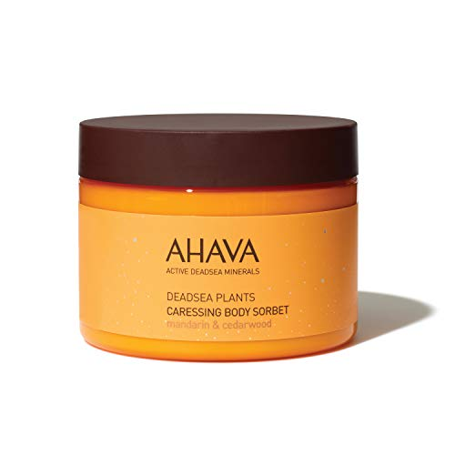 AHAVA Caressing Body Sorbet, Mandarin & Cedarwood, 12.3 Fl Oz