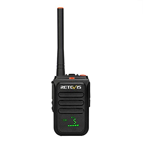 Retevis RB38V MURS Radio,Walkie Talkies Long Range Rechargeable, LED Display,NOAA Weather Alerts for Adults Kids Family Outdoor(1 Pack)
