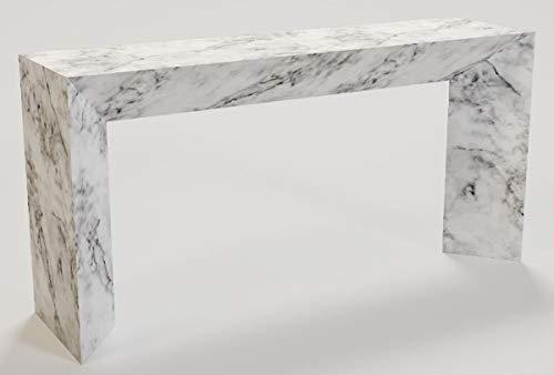 Casa Padrino Consola de mármol de Lujo Blanco 160 x 42 x...