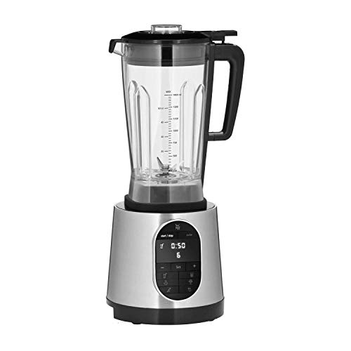 WMF Kult Pro krachtige blender 1.600 watt, 36.000 omw/min, mixer 1,8 l, 6 autoprogramma's, smoothie-, ice crush- en interval-functie