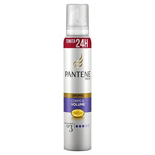 Pantene Pro-V Spuma Leggera Corpo & Volume, Tenuta di Livello 3 che Dura a Lungo, 200 ml