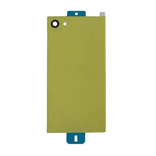 UU FIX Tapa de Batería para Sony Xperia Z5 Compact E5823 E5803(Amarillo) de la Reemplazo Parte Trasera Battery Cover con Kit Reparación.