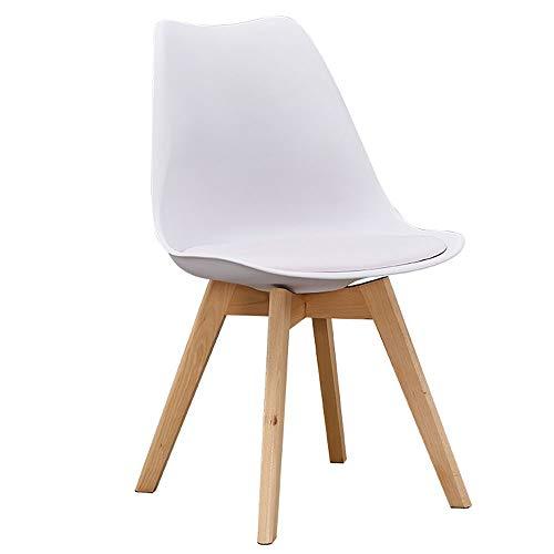 RXM Modern dining stoel kussen Side Chair Elm Leg Restaurant woonkamer slaapkamer keuken