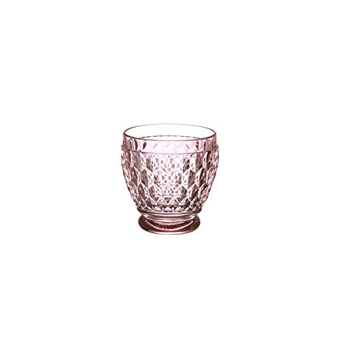 Villeroy & Boch Boston Coloured Bicchieri da Shot, Cristallo, Rosa, 6 x 6 x 6.3 cm
