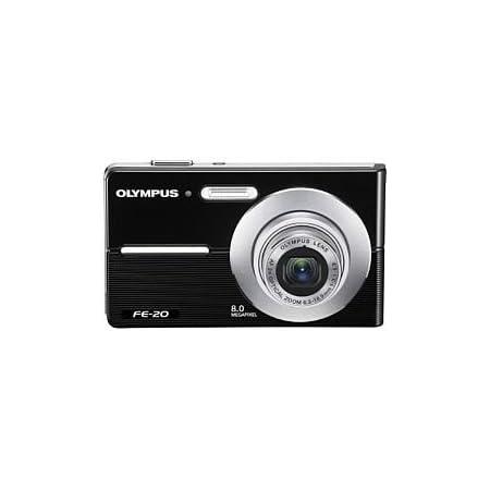 Olympus FE-20 8MP Digital Camera (Black)