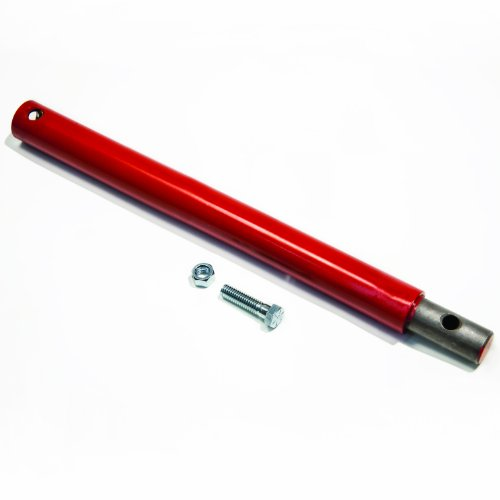 Earthquake Eskimo EXT18 Ext18 Auger Extension, 18' Auger Extension, Red/Black
