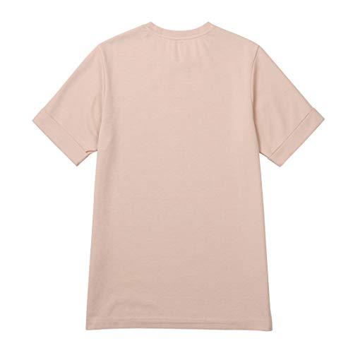 Ce& (シーイーアンド) ユニセックス カラーTシャツ 半袖 (Pink/S)