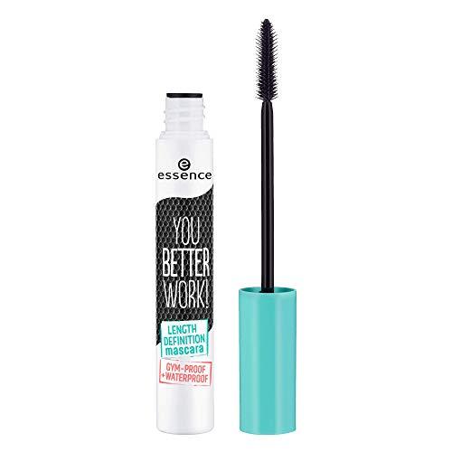 Essence cosmetics you better work! Lunghezza definizione mascara trucco nero