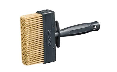 5 x Flächenstreicher Flachpinsel Lasurpinsel 30 x 120mm