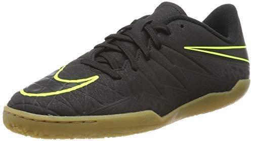 Nike Unisex Hypervenomx Phelon II IC JR 749920 Fußballschuhe, Mehrfarbig (Black 001), 38.5 EU