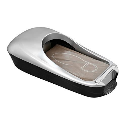 Kengsiren Smart Fußabdeckung Laminiermaschine, Kunststoff-Folie, Die Auf Schuhe Adsorbiert Werden Kann, rutschfest Und Langlebig, Bodenschutz Starter-Kit,A