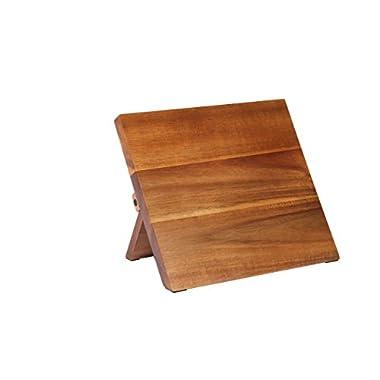 Mercer Culinary Magnetic Board, 9-1/2 x 8-5/8 x 3/4, Acacia