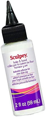 Sculpey ABB02 Bake and Bond, 2 fl Oz (59ml) (packaging may vary)
