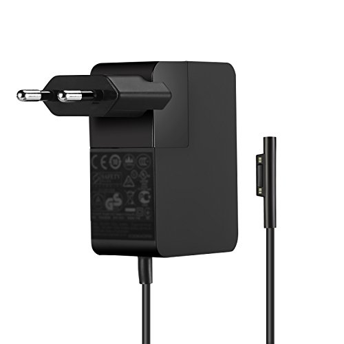 YOUNGE Netzteil-Ladegerät 24W 15V 1,6A Adapter für Microsoft Surface Pro 4 M3 (Core M) 1736 Tablet-Ladegerät