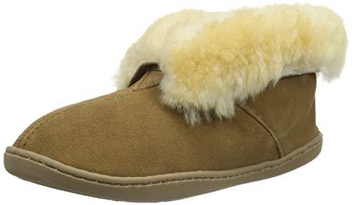 Minnetonka Sheepskin Ankle Boot Femmes US 6 Brun Bottine
