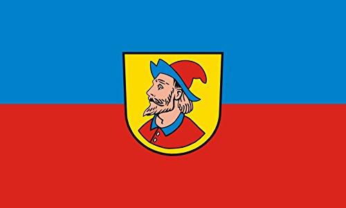 Unbekannt magFlags Tisch-Fahne/Tisch-Flagge: Heidenheim an der Brenz 15x25cm inkl. Tisch-Ständer